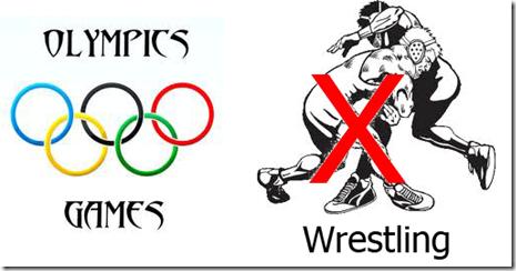 Olympics drops wrestling