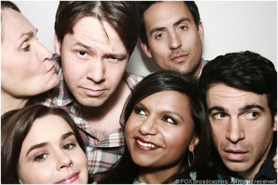 The cast of THE MINDY PROJECT. CLICK to visit the official series site.