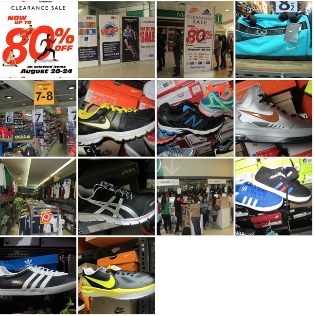 Nike and Adidas Clearance Sale Sports Central