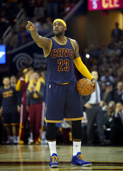 LeBron Turns Into Ambassador and Carries Cavs Over Warriors