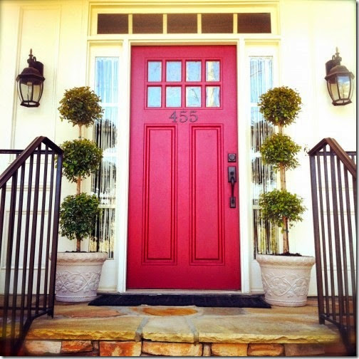 Red-Door-front-door-color-ideas