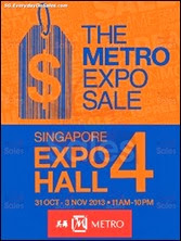 The METRO Expo Sale 2013 Singapore Deals Offer Shopping EverydayOnSales