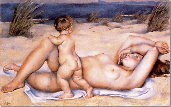 Josep de Togores i Llach -La playa_ 1926