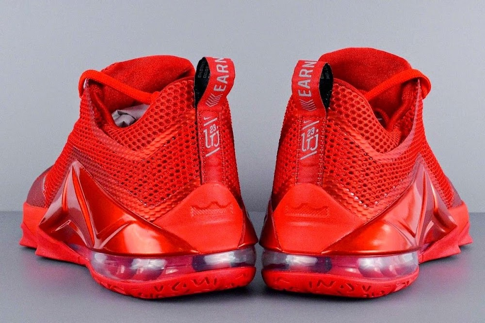 7a358336db5b ... coupon code the all red nike lebron 12 low is hitting more stores 61e1b  06d29