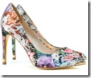 Ted Baker Floral Print Court Shoe