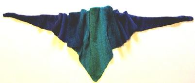 Farbverlauf Dreieckstüchlein Baktus
