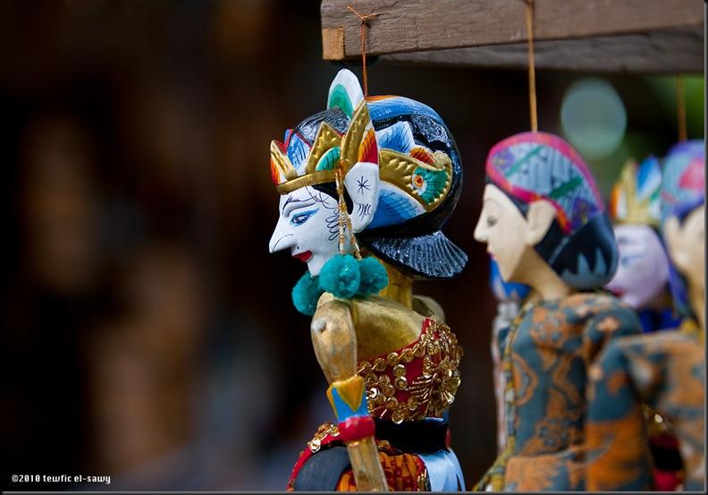 Balinese Puppets, Ubud. Photo © Tewfic El-Sawy