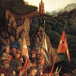 016 tríptico de San Bavón en Gante Soldados de Cristo.jpg