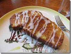 Smaug's Treasure French Toast - The Backyard Farmwife