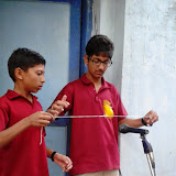 Practical Experiments at Santosh Nagar Boys Branch