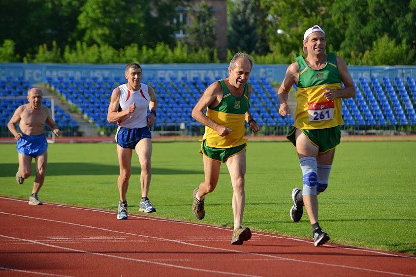 Фото. Чемпионат области среди ветеранов. Легкая атлетика