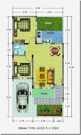 kembali pada anda, bagaimana anda mengembangkan denah desain rumah ...
