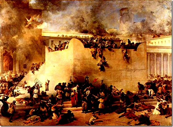 Destruction of Jewish Temple 70 AD lg