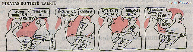 Piratas do Tietê, Laerte