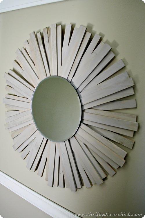 DIY startburst mirror