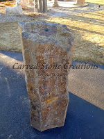"48"" X 12"" Basalt Column Fountain"