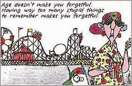 forgetful Maxine