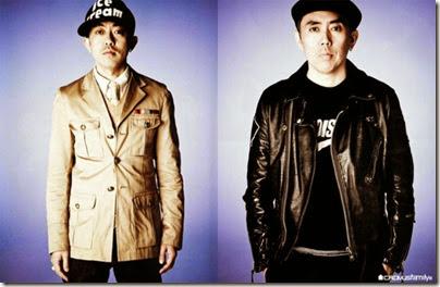Hiroshi Fujiwara and NIGO EYESCREAM may 2009 issue