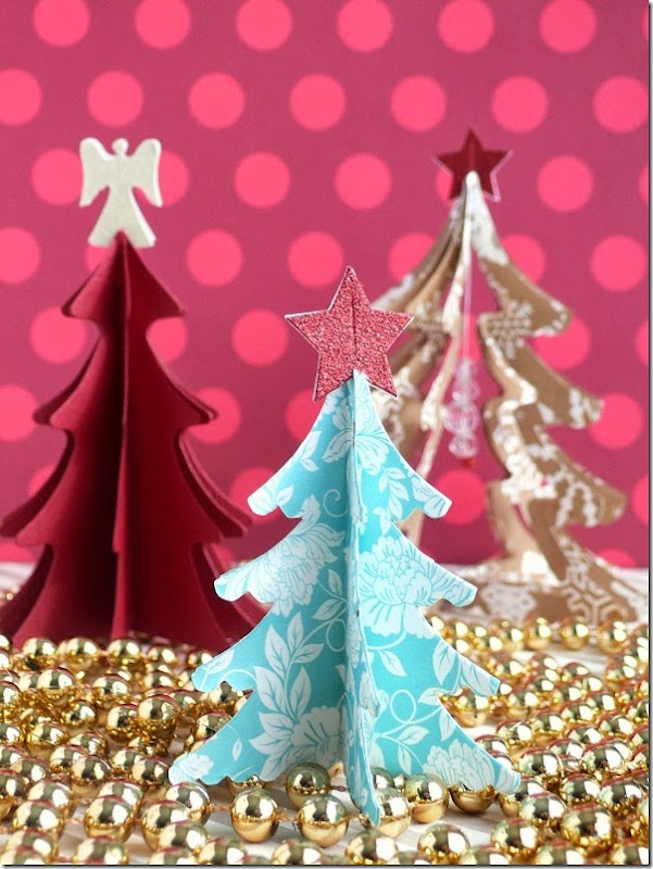 cafe creativo - sizzix big shot - christmas tree - holiday (2)