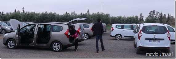 Dacia Lodgy testdagen 23