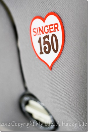 Singer 150 Dress Form - Sewing - My Life...A Happy Life (5 of 5)