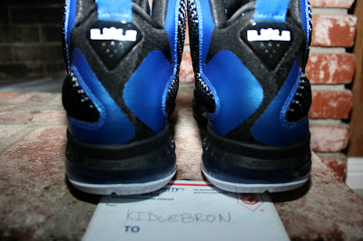nike lebron 9 pe kentucky wildcats away 2 06 The Collection: Kentucky Wildats PEs with LeBron 9 Away Edition