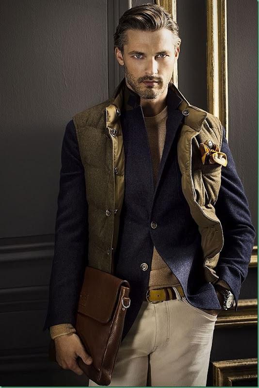Ben Hill for Massimo Dutti F/W 13 Lookbook