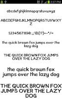 Screenshot of Neat Fonts for FlipFont free