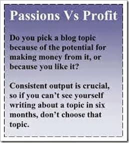 passions vs profit
