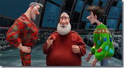 Steve, Santa & Arthur