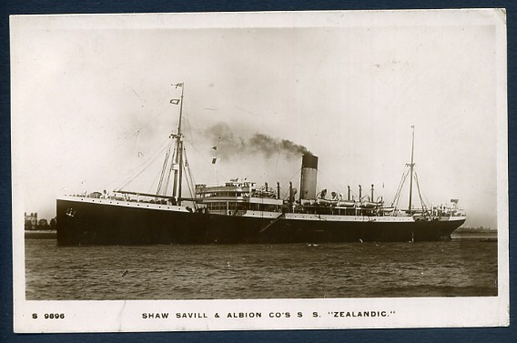 SS Zealandic