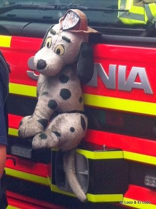 fire truck mascot