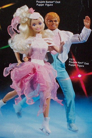 Barbie & Ken Ice Capades 50th Anniversary BARBIE Pink