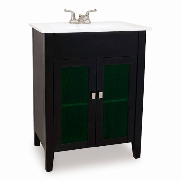 Vanities Eberly Black VAN063 1 Black Bathroom Vanity