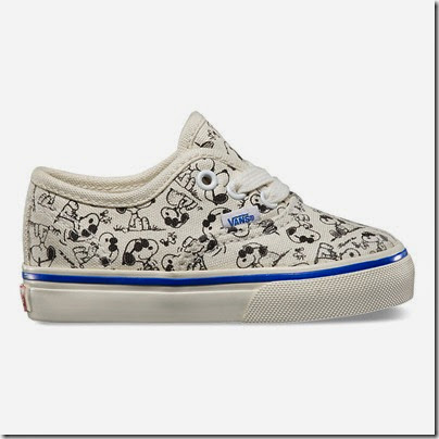 Vault by Vans X Peanuts OG Authentic LX Toddler Sizes White