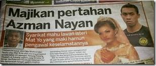 Majikan Azman Nayan saman isteri Matyo, Aisya Adam