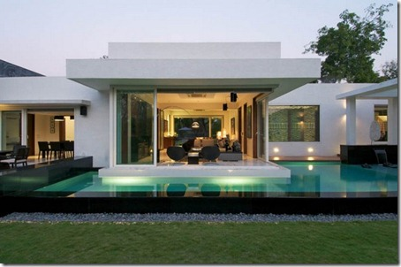 Exterior Dinesh Bungalow by atelier dnD