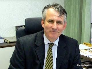 Peter Blomeyer, Ambassadeur d'Allemagne en RD Congo.