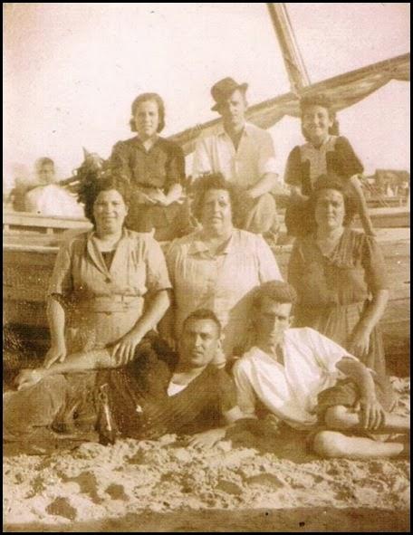 Dias de Playa del Cabanyal. Ca. 1935