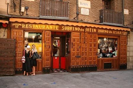 Restaurante  Botín_Madrid_Fachada 01.pg