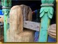 Kentongan kayu pos kamling
