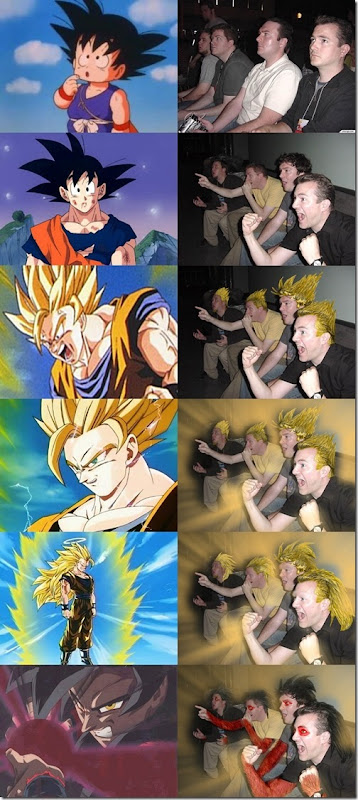 Reaction Guys - Saiyan Levels