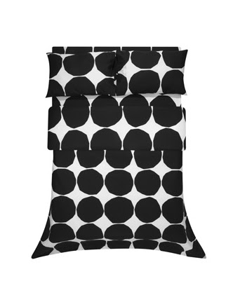 Kivet Black Duvet.  So graphic and bold.