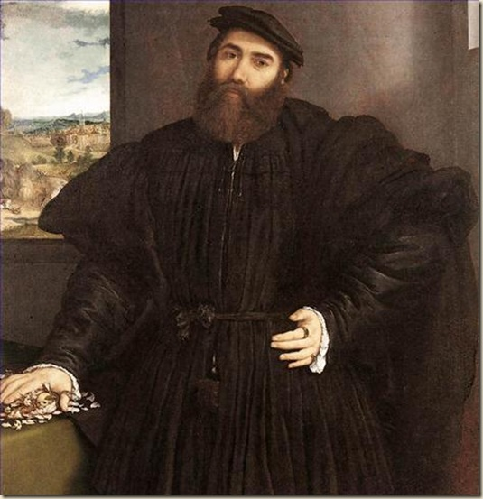 Lorenzo Lotto, Portrait de Mercurio Bua