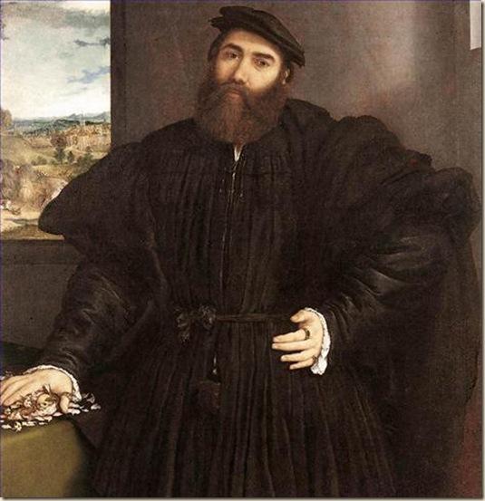 Lorenzo Lotto, Portrait de Mercurio Bua