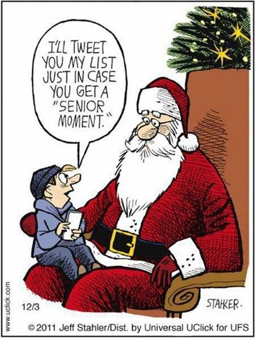 70 Tweeting Santa
