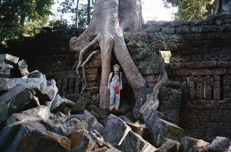 Obiective turistice Cambogia: Ta Phrom