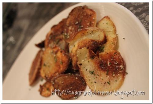 Parmesan Potato Chips 2
