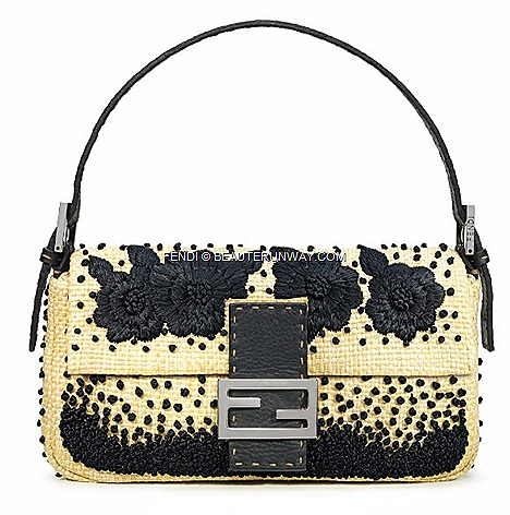 FENDI BAGUETTE  PAGLIA Limited Re Editions by Silvia Venturini FENDI FALL WINTER 2012&#8216; flagship store Singaore Romantic, always the same and yet so different, so that women all over the world have fallen in love&#8221;