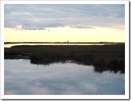 11.2011 sun setting lighthouse west end provincetown3